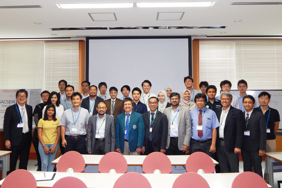 SACSEM 4th in University of Tsukuba